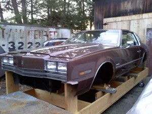 84 olds toranado body