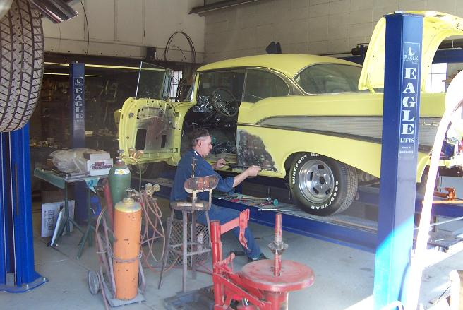Expert auto body restoration & repair for vintage muscle cars.